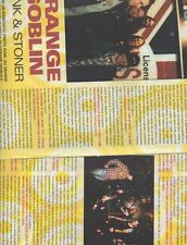 SP32 Clipping-Ritaglio 2002 Orange Goblin Punk & Stoner