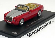1:43 Kyosho Rolls Royce Phantom Drophead Coupe 2012 red/silver