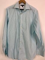 Banana Republic Slim Fit Button Up Long Sleeve Blue Shirt Work Causal Mens Large