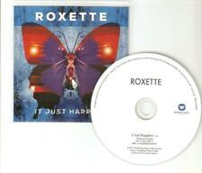 ROXETTE - IT JUST HAPPENS - BENELUX RARE PROMO CD - MINT