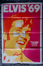 The Trouble with Girls 1sh movie  poster ELVIS PRESLEY Sheree North  MASON 1969