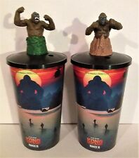 Hotel Transylvania 3 Movie Theater Exclusive Cup Topper Set #1 With 44 oz Cups
