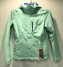 North Face Jeppeson Women's Winter Snow Ski Jacket Surf Green Extra Small NEW