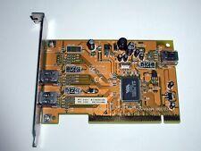 PCI Firewire IEEE1394 Adapter, 2x extern 1x intern, VIA VT6306, gebraucht