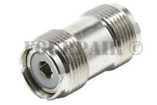 5 Pack - UHF SO-239 Female Coupler RF Adapter Barrel Connector for PL-259 Plugs