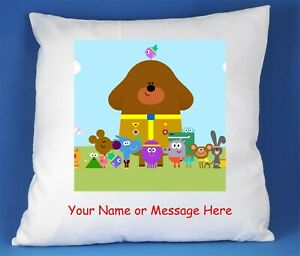HEY DUGGEE SATIN CUSHION COVER CAN BE PERSONALISED FAST POSTAGE