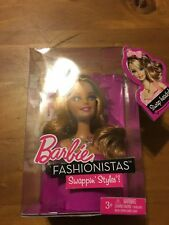 Barbie 2010 SWAPPIN' STYLES Fashionistas T9126 DOLL HEAD Blonde Sweetie NRFB