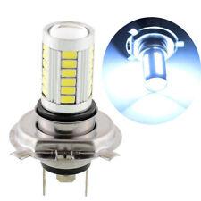 H7 5630 33 SMD LED Pure White DRL Fog Light Headlamp Car Bulb 9-15V