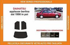 pellicola oscurante vetri dahiatsu applause berlina dal 1998  kit posteriore