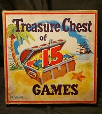 1953 PHILIPS PUBLISHERS TREASURE CHEST OF 15 GAMES