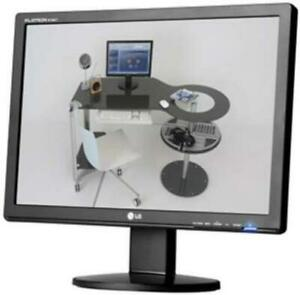 LG 20-inch Widescreen DVI 5ms Silver LCD Monitor - Tilt Stand (W2042T)