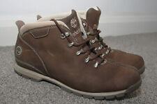 Men's Timberland Splitrock brown leather boots UK 9.5 10W - hiking, walking