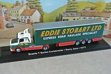 Oxford STOB010 SCANIA T CAB Curtainside Eddie Stobart Atlas 1 76 Scale