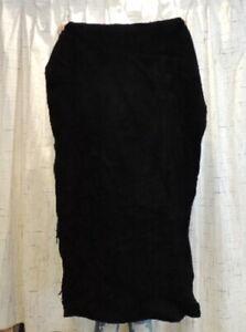 BLACK BISON BUFFALO Leather Hide for Native Crafts Moccasins Buckskins Bags