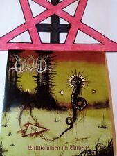 TROND  (DE)  Willkommen im Unheil    Black Metal CD