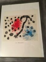 """Joan Miro Hand signed lithograph """" Album""""-  """"322-Album 19, Plate 11 with C.O.A."""