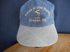 Fuoss Angus Draper SD Adult Hat Baseball Cap South Dakota Snapback
