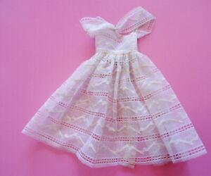 Vintage Barbie Orange Blossom Over Dress MINT