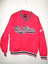 Large Detroit Red Wings Pullover Jacket Windbreaker Nhl Euc J17
