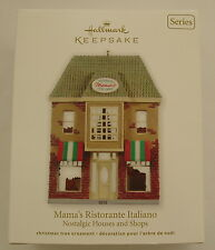Hallmark 2012 Nostalgic Houses Shops #29 in Series Italian Restaurant Ornament