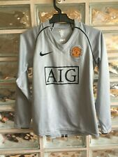 MANCHESTER UNITED Football Shirt 2007/08 Maillot Soccer Jersey Trikot Camiseta