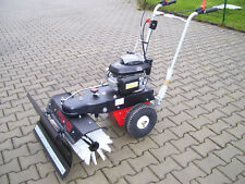 Haaga Kehrmaschine 870 Benzinmotor mit Schneeschild