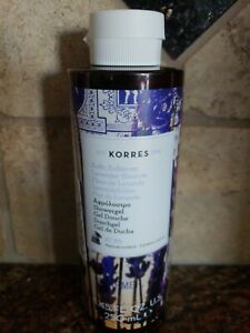 Korres Lavender Blossom Shower Gel 250ml/8.45oz Brand NEW Unsealed
