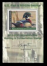 RW79B FEDERAL DUCK STAMP SOUVENIR SHEET - SUP 98 NH W/ PSE GRADED CERT.