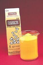 FLAVACOL BUTTERY Popcorn Popping Salt 4 SINGLE CARTONS
