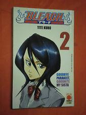 BLEACH-  N° 2- originale in 1° edizione- DI:TITE KUBE- MANGA PANINI COMICS raro