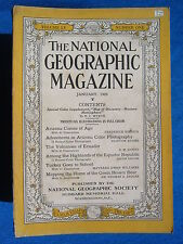 National Geographic Magazine January 1929 Vintage Ads Car Truck Advertising