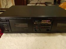 Sony KX W282 Cassette Deck Natural Sound TESTED