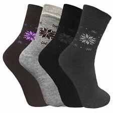 Damen Thermo Socken Wintersocken Sportsocken Socken warm Frottee 35-38 39-42