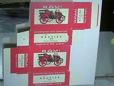 REPLIQUE BOITE VOITURE ELECTRIQUE HAUTIER 1898 /JOUETS RAMI 1958/68