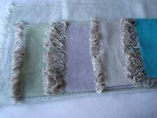 sciarpa tessuta a telaio artigianale in cachemire e lino double di vari colori