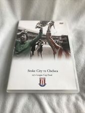 More details for 1972 league cup final stoke city v chelsea fc [dvd] [1972] football