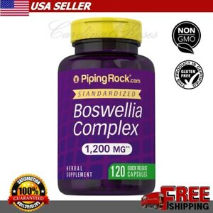 Piping Rock BOSWELLIA SERRATA 1200 mg Joint Inflammation Supplement 120 Capsule