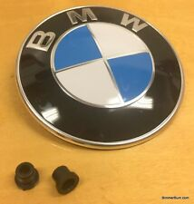 Genuine BMW Hood Trunk Emblem with Grommets E36 M3 328 325 323 320 318 316 325is