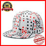 Hip Hop Poker Playing Cards Print Baseball Cap Snapback Hat For Men And Women