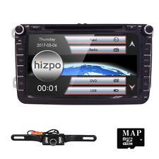 "8"" Car Dash CD DVD Player GPS SWC Radio+Camera For VW Golf Jetta Passat Tiguan"