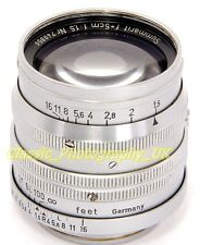 RARE! Early LEICA LTM SUMMARIT f=5cm 1:1.5 Fast Prime Lens Made by LEITZ in 1949