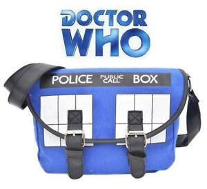Doctor Who Tardis Crossbody Messenger Canvas Bag Dr Who  03