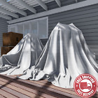 TANG Sunshades Depot 12 X 20 Feet Heavy Duty 10 Mil White Cover Tent Shelter Cam