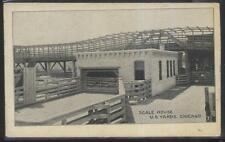 Postcard CHICAGO Illinois/IL  Stock Yard Scale House Building view 1907