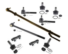 4WD FORD BRONCO Center Link Drag Link Inner Outer Tie Rods Ball Joints Sleeves