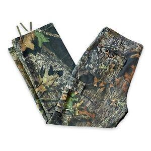 Mossy Oak Lady Woodsman Camo Hunting Pant Women XL Adjustable Waist 30 Inseam