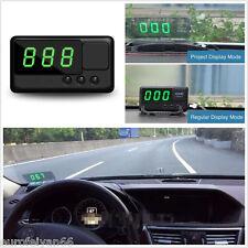 Fahrzeuge HUD Digital Tacho Head up LCD DISPLAY PROJEKTION Drehzahlüberschreitung Alarm