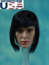 1/6 Scarlett Johansson Ghost In The Shell Head Sculpt For PHICEN Figure U.S.A.