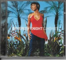 CD ALBUM 12 TITRES--BEVERLEY KNIGHT--WHO I AM--2002
