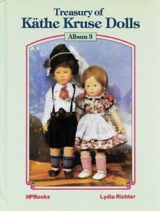 Antique German Kathe-Kruse Dolls - History Types Bodies Etc.  / Illustrated Book